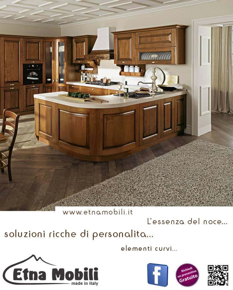 Cucina classica in muratura contemporanea randazzo,catania,sicilia ...