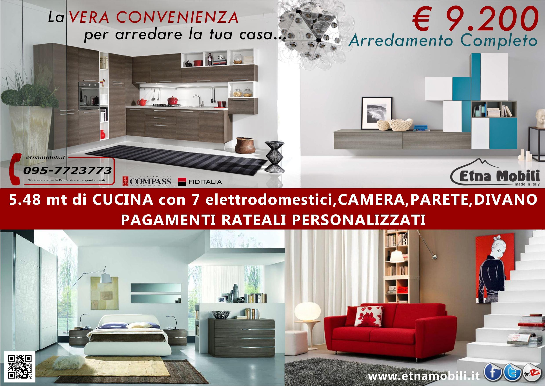 Stunning Come Arredare Una Cucina Soggiorno Piccola Contemporary ...