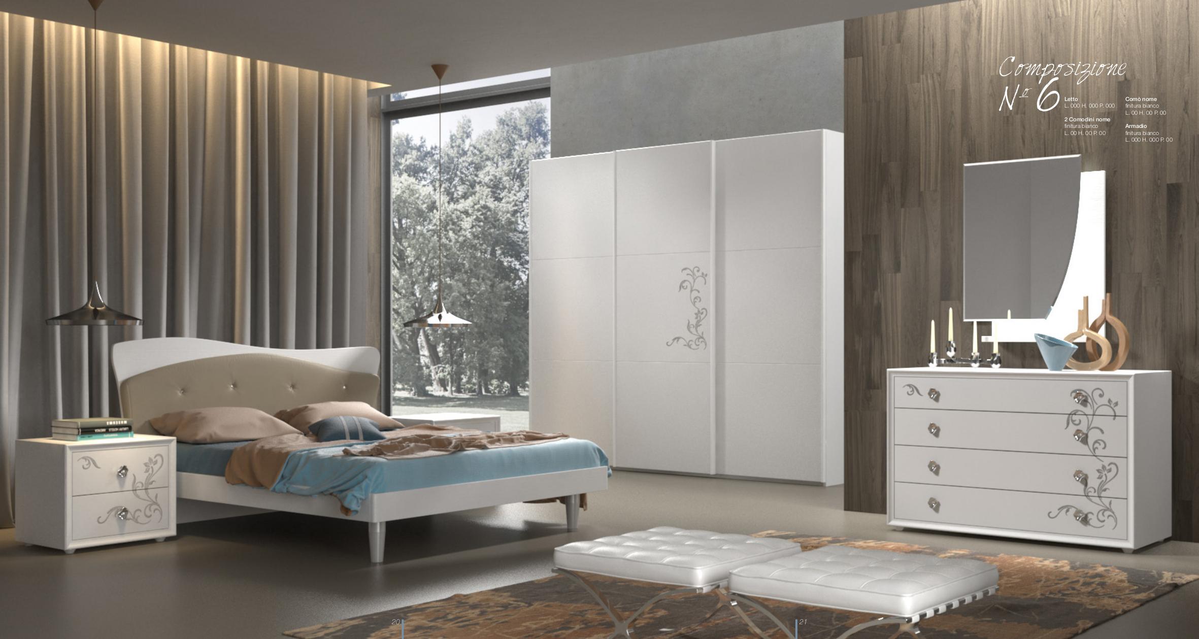 Camera da letto moderna contemporanea Sicilia,Catania,Messina,Enna ...