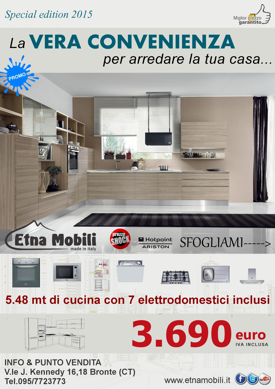 cucine curve moderne economiche sicilia,catania,bronte,adrano ... - Offerta Cucine Componibili