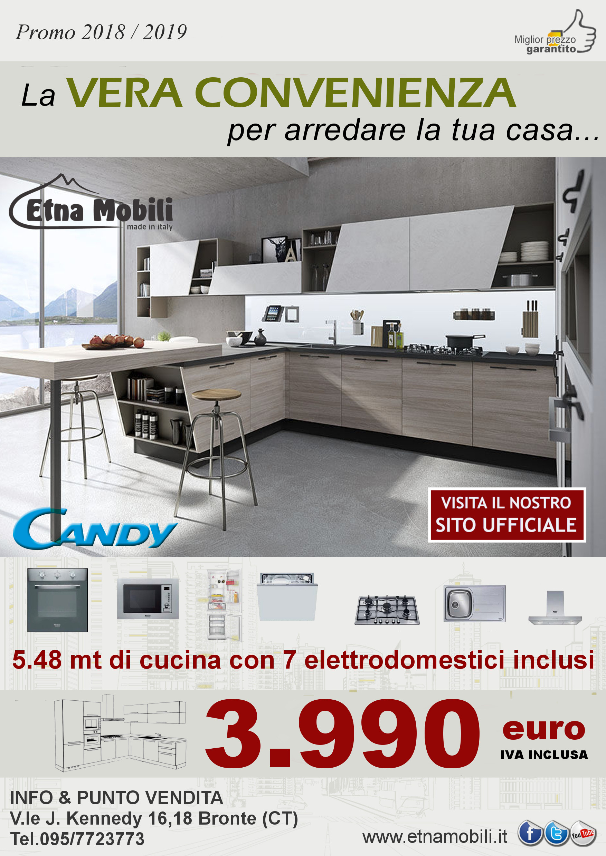 Offerta cucina componibile in finta muratura Sicilia