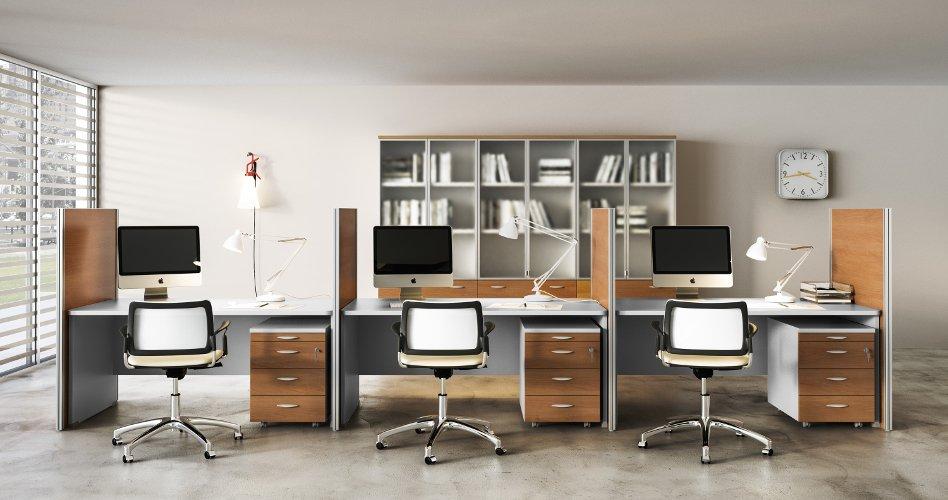 Disposizione Scrivania Ufficio : Etna mobili arredamento e mobili per il tuo ufficio sicilia catania