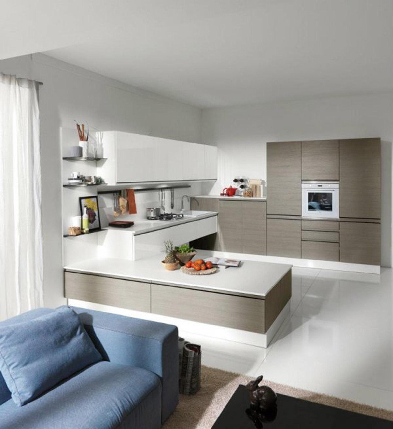 Idee separazione cucina soggiorno ispirazione per la casa for Idee per arredare la cucina