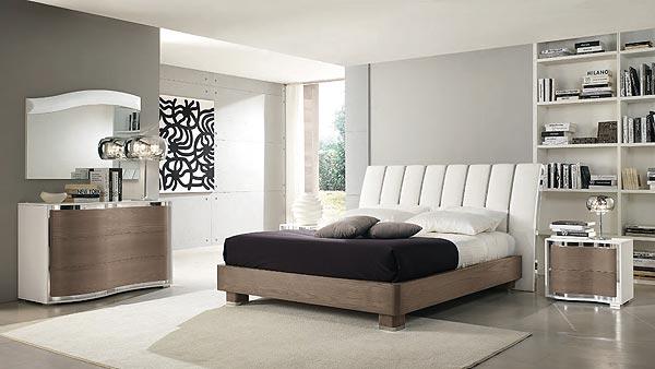 Arredamento Minimalista Camera Da Letto : Camera da letto moderna stile minimalista in idee archzine