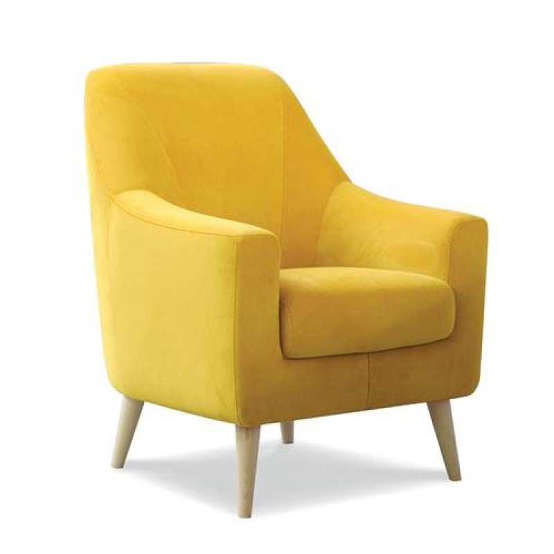 Poltrona imbottita moderna maiorca vendita online design made in italy - Poltrona moderna design ...