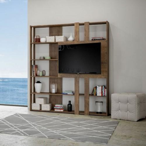 Mobile Porta Tv Libreria Moderno.Mobile Libreria E Porta Tv Book L Pareti Attrezzate Moderne