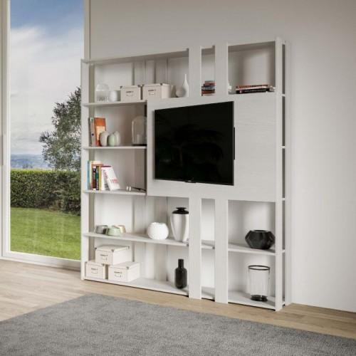 Mobile Porta Tv Libreria Moderno.Mobile Libreria E Porta Tv Book N Porta Tv Moderni