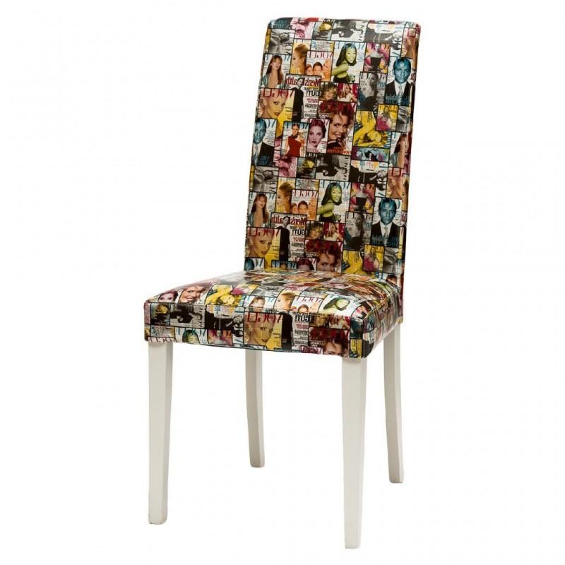 Sedia vintage esclusiva vogue color art 121 sedie mode for Design vendita on line