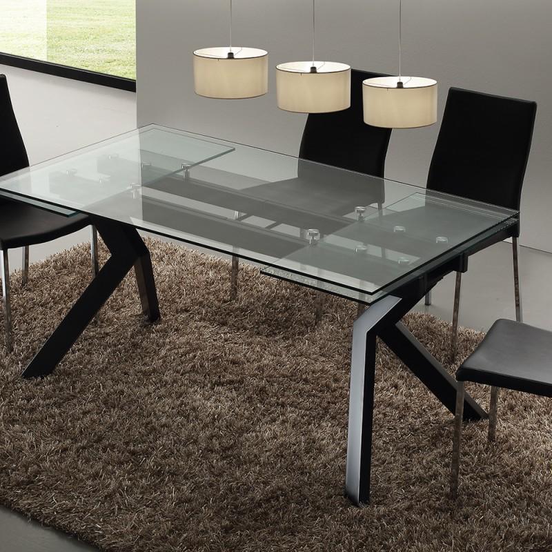 Tavolo in Vetro allungabile \