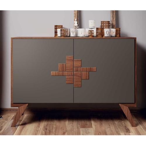 Madia Verona credenza vintage 2 ante 100% legno vendita ...