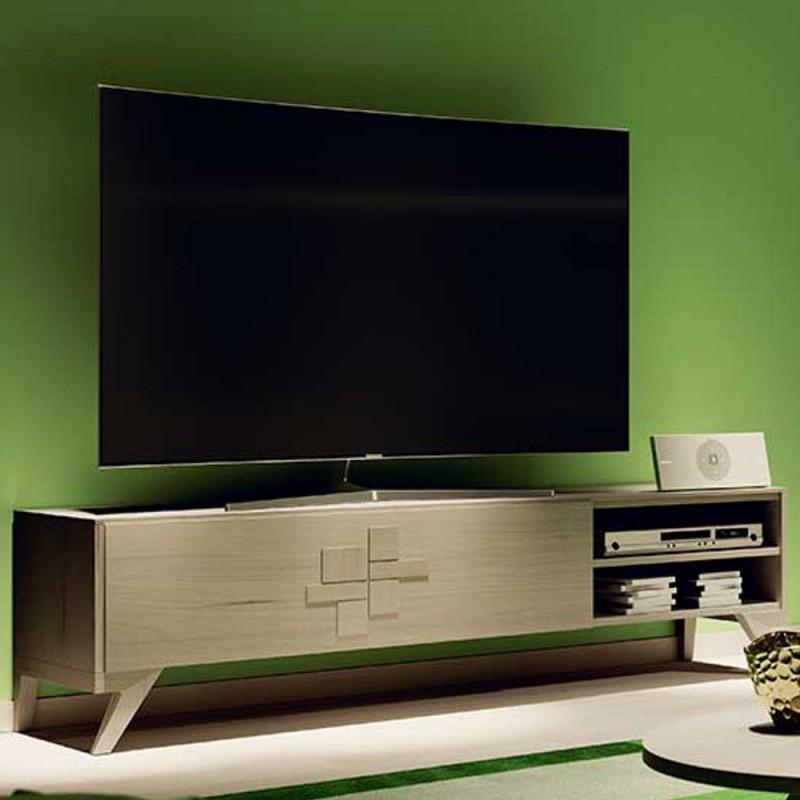 Porta tv moderno in legno moderno vendita online prezzo offerta