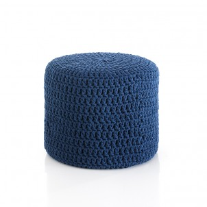 "Pouf Moderno ""Choose Blue"""