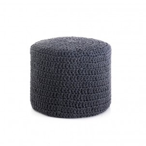"Pouf moderno ""Choose Dark Grey"""