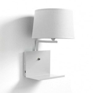 "Lampada Applique a muro ""NIO WHITE"""