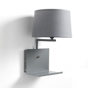"Lampada Applique a muro ""NIO GREY"""