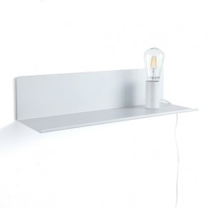 "Mensola applique comodino ""MAGIC SHELF WHITE"""