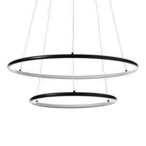 "Lampadario moderno ""Two Rings"""