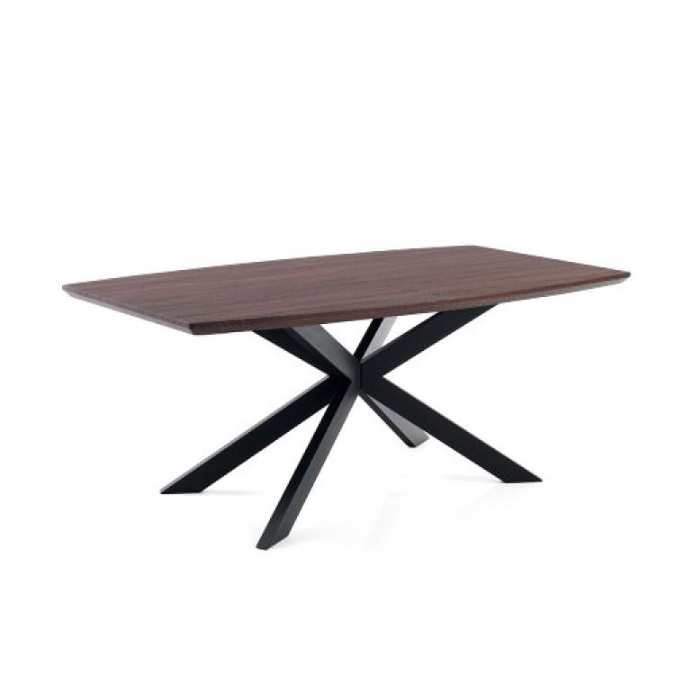Tavolo Allungabile Moderno Hics Dark Wood
