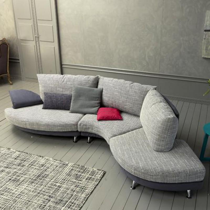 Divano design moderno alvin vendita online prezzo a for Divano moderno