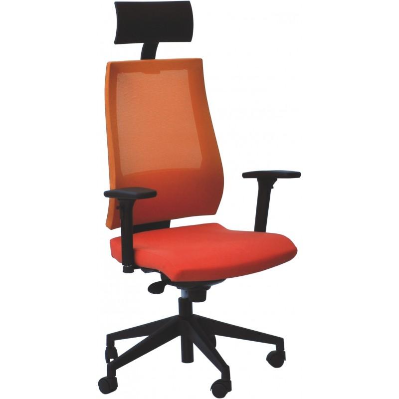 Poltrona ufficio operativa ergonomica con braccioli \